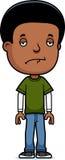 Menino adolescente triste Fotos de Stock