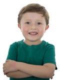 Menino adorável do americano da criança de 5 anos Imagem de Stock Royalty Free