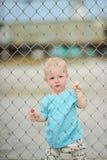 Menino adorável do bebê de um ano Fotos de Stock Royalty Free