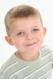 Menino adorável do Caucasian dos anos de idade quatro Imagens de Stock