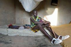 Menino africano Foto de Stock Royalty Free