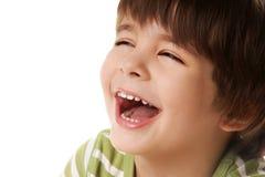 Menino alegre Fotografia de Stock