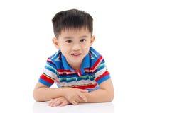 Menino asiático Fotografia de Stock