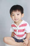 Menino asiático bonito Foto de Stock