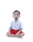 Menino asiático novo bonito Fotografia de Stock Royalty Free