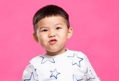 Menino asiático pequeno imagem de stock royalty free
