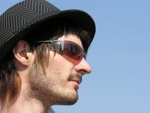 Menino com chapéu Fotografia de Stock