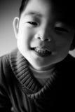 Menino coreano Fotografia de Stock