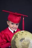 Menino da graduação Fotografia de Stock Royalty Free