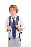 Menino da High School fotos de stock