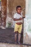 Menino da ilha do IBO Imagem de Stock Royalty Free