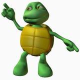 Menino da tartaruga - máquina da dança Fotos de Stock Royalty Free