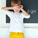 Menino de escola Imagem de Stock