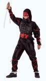 Menino de Ninja foto de stock