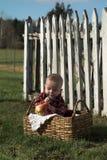 Menino de país Foto de Stock Royalty Free