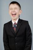 Menino de riso Fotos de Stock Royalty Free
