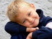 Menino de sorriso Foto de Stock