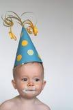 Menino do aniversário Imagens de Stock