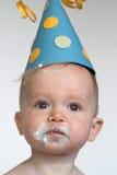 Menino do aniversário Imagem de Stock Royalty Free