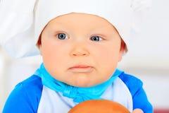 Menino do cozinheiro Imagem de Stock