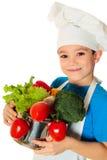 Menino do cozinheiro Foto de Stock Royalty Free