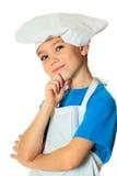 Menino do cozinheiro Foto de Stock