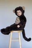 Menino do macaco Imagens de Stock
