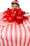 Menino do Natal Fotos de Stock Royalty Free