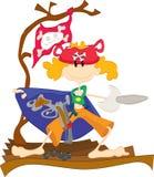 Menino do pirata Imagens de Stock