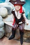 Menino do pirata Imagens de Stock Royalty Free