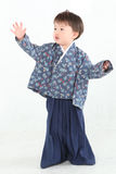 Menino do quimono Imagens de Stock
