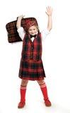 Menino do Scotsman imagem de stock