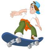 Menino do skate Imagens de Stock Royalty Free
