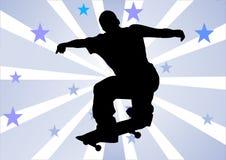 Menino do skater Fotografia de Stock Royalty Free