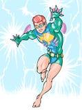 Menino do super-herói Imagem de Stock Royalty Free