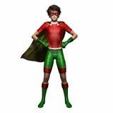 Menino 1 do super-herói Imagens de Stock