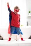 Menino do super-herói imagens de stock royalty free