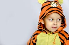 Menino do tigre Foto de Stock
