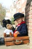 Menino do vintage Fotografia de Stock Royalty Free