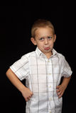 menino dos anos de idade 5 Foto de Stock