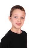 Menino dos anos de idade oito Fotografia de Stock Royalty Free