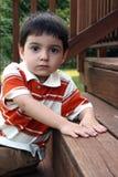 Menino dos anos de idade três Fotografia de Stock