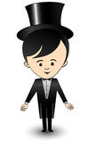 Menino dos desenhos animados Imagem de Stock Royalty Free