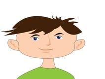 Menino dos desenhos animados da criança Imagem de Stock