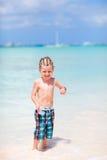 Menino em férias Imagem de Stock Royalty Free