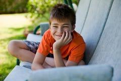 Menino feliz Imagens de Stock