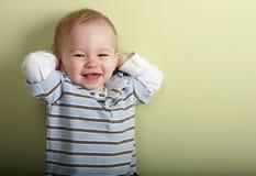 Menino feliz Foto de Stock Royalty Free
