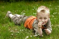 Menino feliz Fotografia de Stock