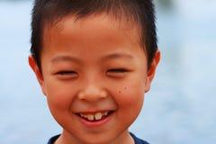 Menino feliz Imagem de Stock Royalty Free
