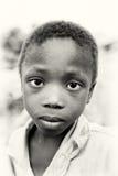 Menino ganês pequeno Imagem de Stock